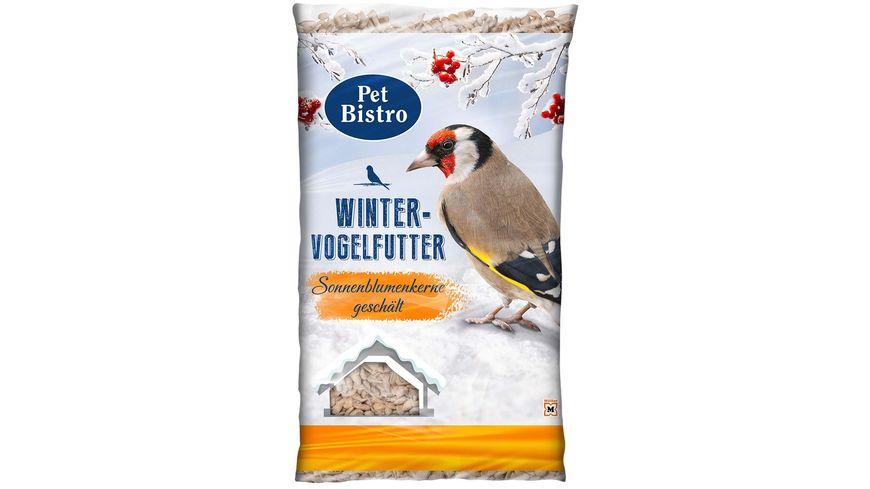 Pet Bistro Wintervogelfutter Sonnenblumenkerne geschaelt