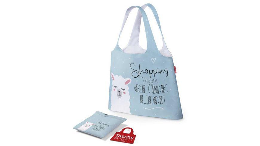 Geschenk fuer Dich Tasche Shopping Gluecklich