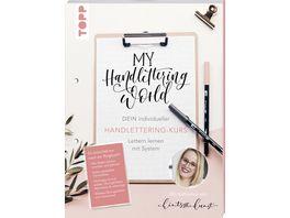 My Handlettering World Dein individueller Handlettering Kurs