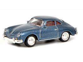 Schuco Edition 1 87 Porsche 356 Coupe blau 1 87