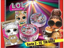 Panini L O L SURPRISE Tin Dose Serie 2 Glamlife mit 40 Karten