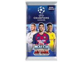 Topps UEFA Champions League Match Attax 2019 2020 Trading Cards Booster