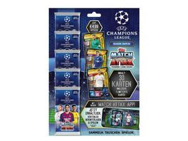 Topps UEFA Champions League Match Attax 2019 2020 Trading Cards Multipack