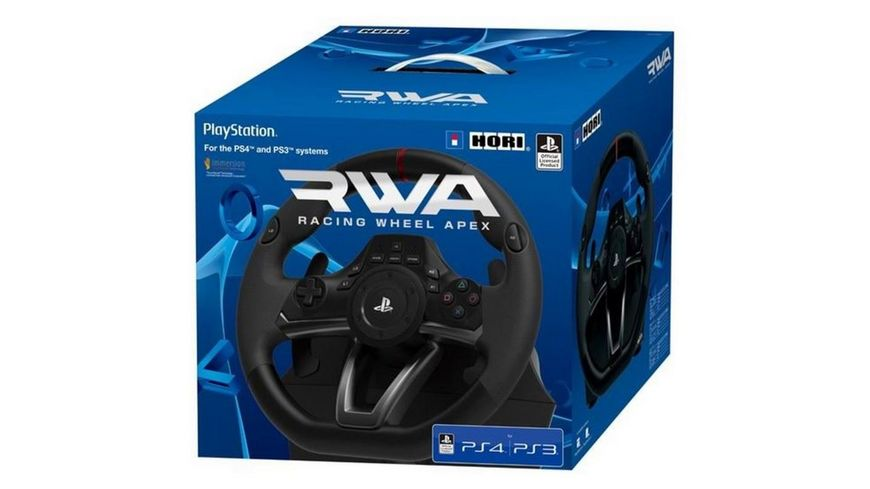 PS4 Lenkrad RWA Racing Wheel Apex PS4 PS3