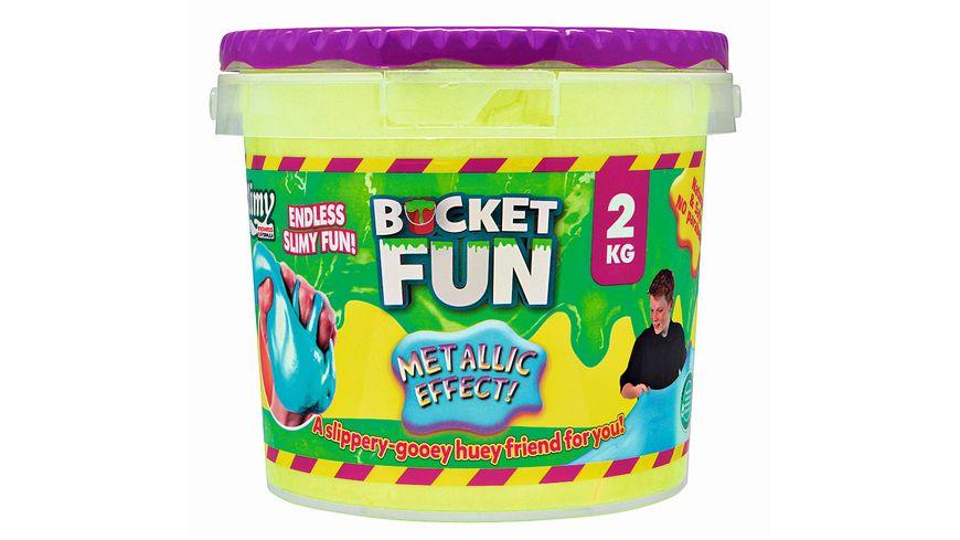 Slimy Bucket Fun Metallic Slimy 2 kg farblich sortiert