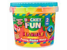 Slimy Bucket Fun Marble Slimy 2 kg farblich sortiert