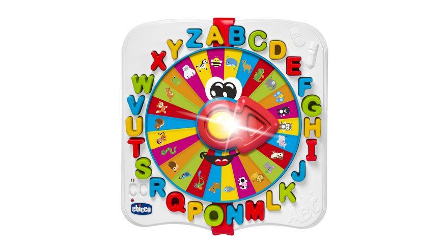 Chicco ABC Rad Lerne das Alphabet waehrend du Spass hast