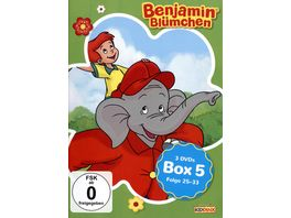 Benjamin Bluemchen Box 5 3 DVDs
