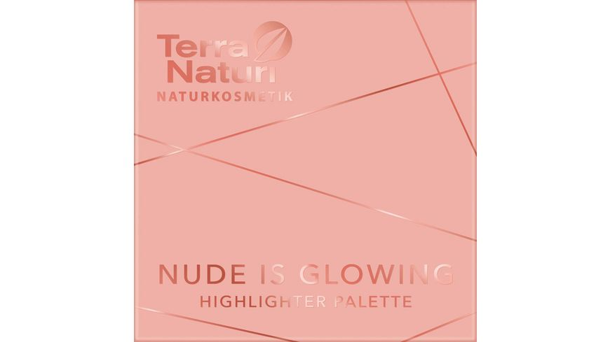 Terra Naturi Nude is Glowing Highlighter Palette