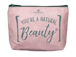 essence natural beauty make up bag