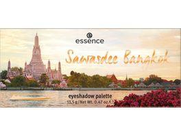 essence Sawasdee Bangkok eyeshadow palette