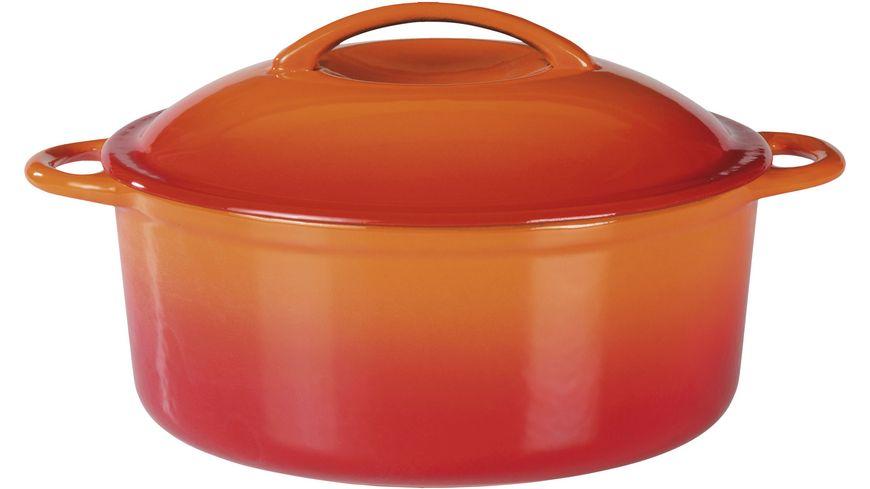 GSW Gusseisen Kochtopf Orange Shadow 24 cm