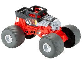 Hot Wheels Monster Trucks Bone Shaker Fahrzeug mit Lichtern und Geraeuschen