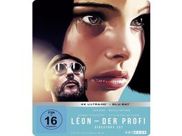 Leon Der Profi Limited 25th Anniversary Steelbook Edition 4K Ultra HD