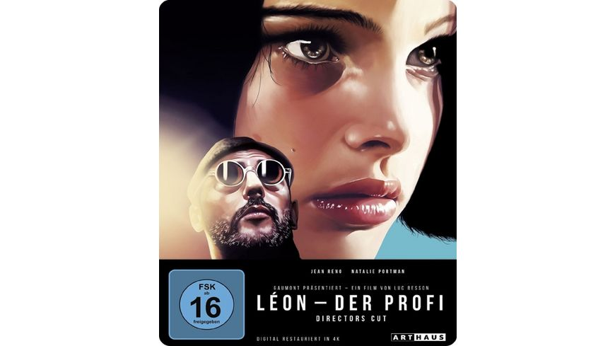 Leon Der Profi Limited 25th Anniversary Steelbook Edition Blu ray
