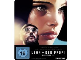 Leon Der Profi Limited 25th Anniversary Steelbook Edition Blu ray