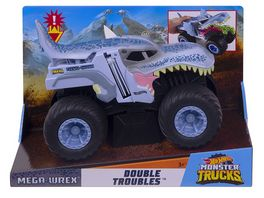 Mattel Hot Wheels Monster Trucks 1 24 Double Troubles Mega Wrex