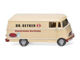 WIKING 026504 Kastenwagen MB L 319 Dr Oetker 1 87