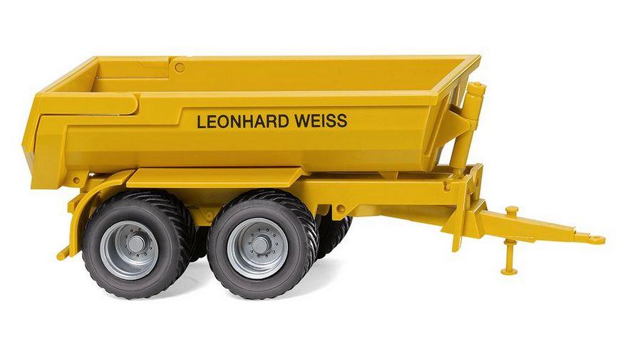 WIKING 038817 Krampe Halfpipe Muldenkipper Leonhard Weiss 1 87
