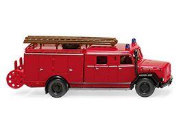 WIKING 0863 98 Feuerwehr LF 16 Magirus 1 87