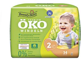 Beauty Baby Premium Oeko Windeln Groesse 2 Mini 4 8 kg