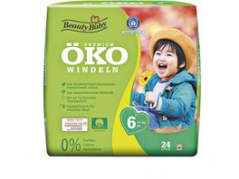 Beauty Baby Premium Oeko Windeln Groesse 6 XL 13 kg