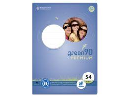 Ursus Green Vokabelheft A4 40 Blatt Lineatur 54