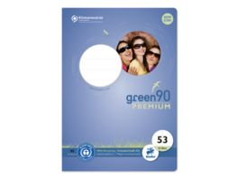 Ursus Green Vokabelheft A5 32 Bl LIN53 lin 1 Mst