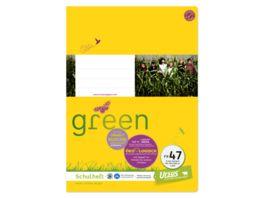 Ursus Green Heft FX47 A4 40 Blatt kariert