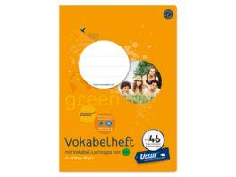 Ursus Green Premium Heft A4 FX46 40 Blatt liniert