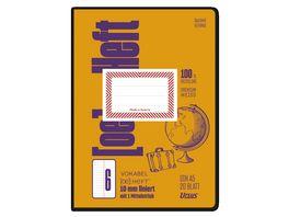 Ursus OE Vokabelheft OE6 A5 20 Blatt 10mm liniert