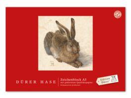 Edition Duerer Zeichenblock A5 18 Blatt Hase
