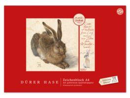 Edition Duerer Zeichenblock A4 18 Blatt Hase