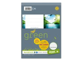 Ursus Green Notizblock A5 48 Blatt 5mm kariert