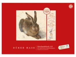 Edition Duerer Zeichenblock A3 18 Blatt Hase