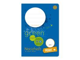 Ursus Green Musikheft 1a 8 Blatt blau