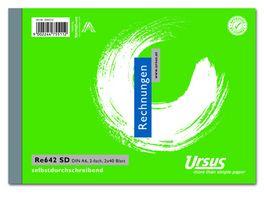 Ursus Style RE Buch A6 2x40 Blatt RE642SD