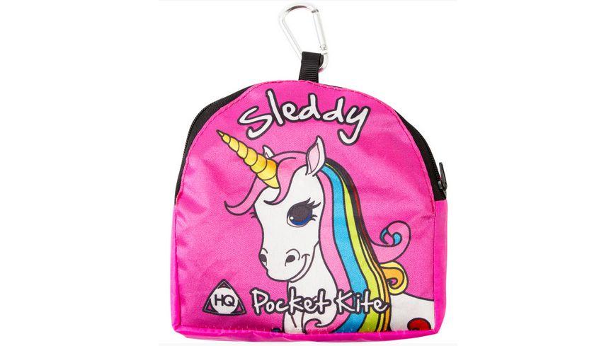 Sleddy Kinderdrachen Unicorn