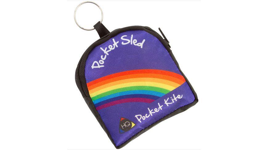Pocket Sled Kinderdrachen Rainbow