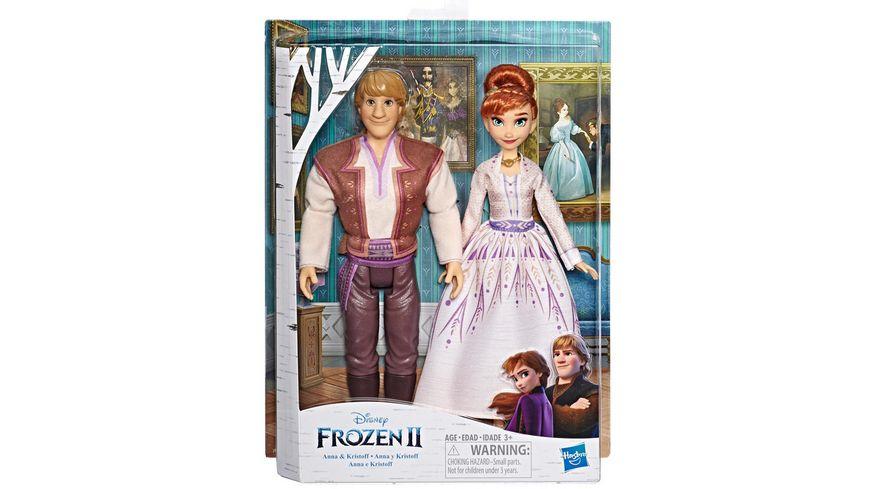 Hasbro Frozen 2 Anna and Kristoff Fashion Dolls 2 Pack