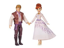 Hasbro Frozen 2 Anna and Kristoff Fashion Dolls 2 Pack