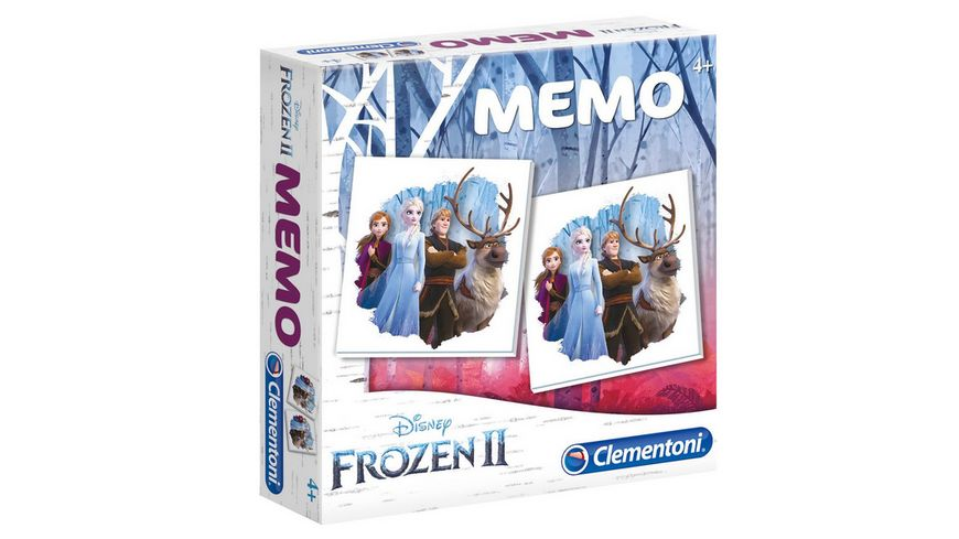 Clementoni Memo Game Frozen 2