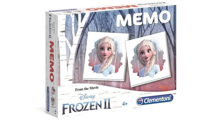 Clementoni - Memo Kompakt Frozen 2