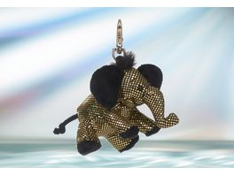 Rudolf Schaffer Collection Schluesselanhaenger Glitz Glamour Elefant gold