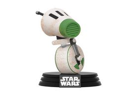 Funko POP Star Wars D 0 Bobble Head Figur