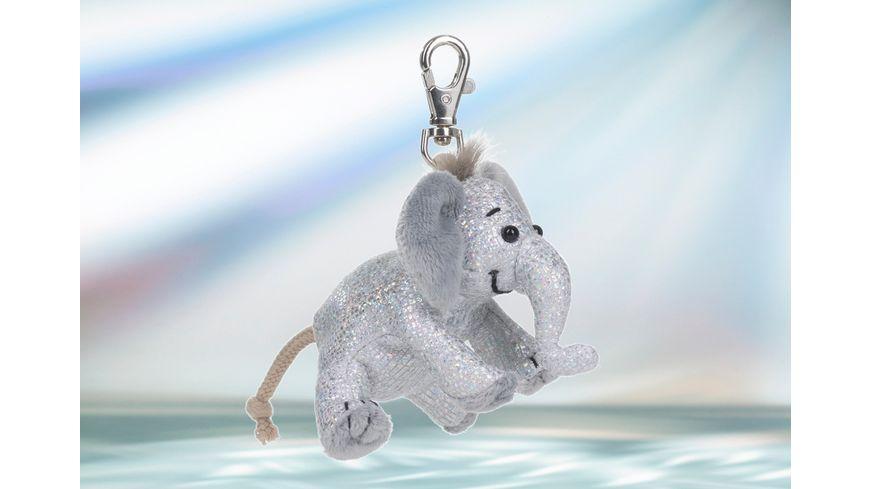 Rudolf Schaffer Collection - Schlüsselanhänger Glitz & Glamour Elefant silber