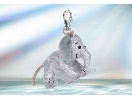 Rudolf Schaffer Collection Schluesselanhaenger Glitz Glamour Elefant silber