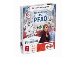 ASS Altenburger Disney Frozen 2 Die besten Kartenspiele Der magische Pfad Shuffle