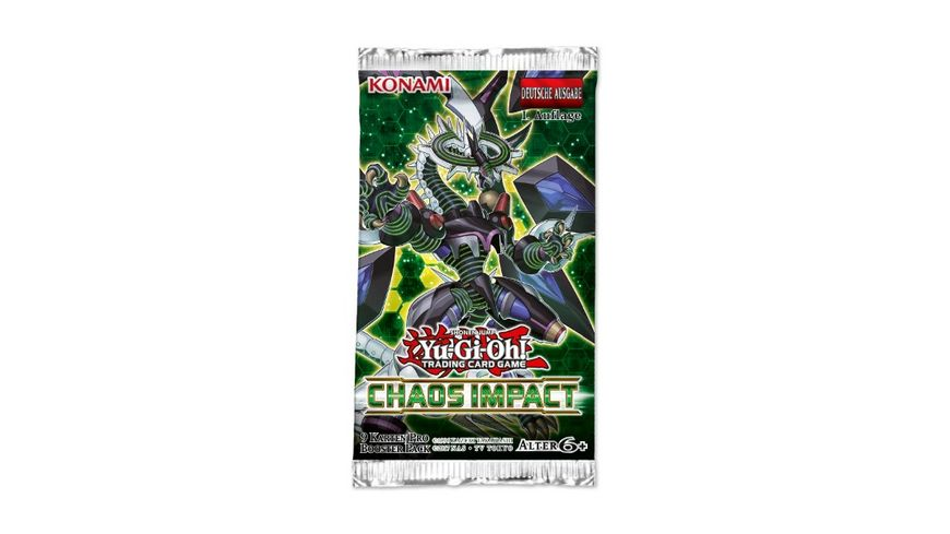 Yu Gi Oh Sammelkartenspiel Chaos Impact Booster