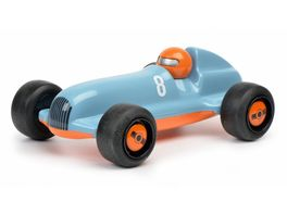 Schuco Studio Racer Blue Pierre 8 blau orange